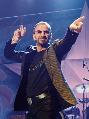 Former Beatles drummer Ringo Starr will take his supergroup to the Abraham Chavez Theatre on Oct. 30.