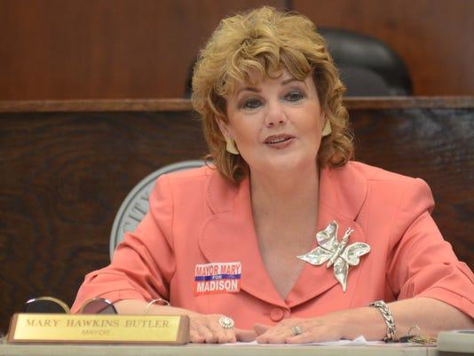 Mayor Mary Hawkins-Butler