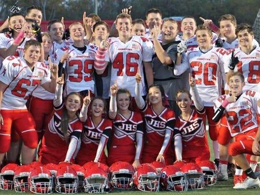 Johnstown Johnnie Freshman Football Undefeated 2015 Season