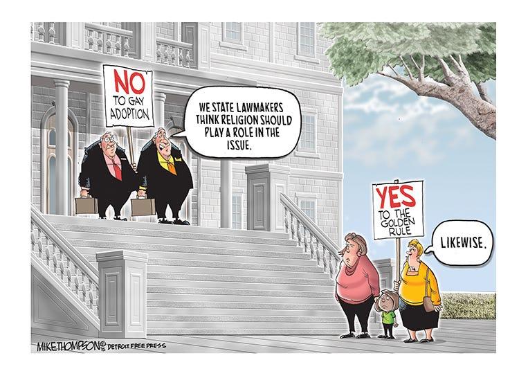 Homosexual adoption against