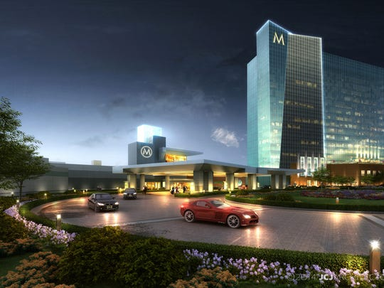 A rendering of the proposend Montreign Resort Casino,