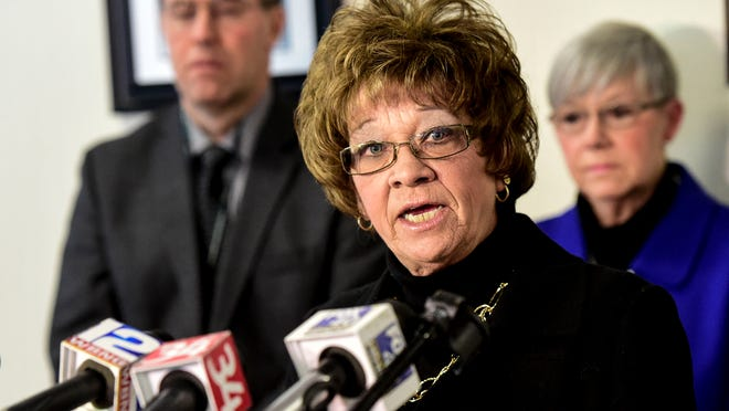 Broome County Executive Debbie Preston unveiled the Broome Opioid Abuse Council on Thursday.