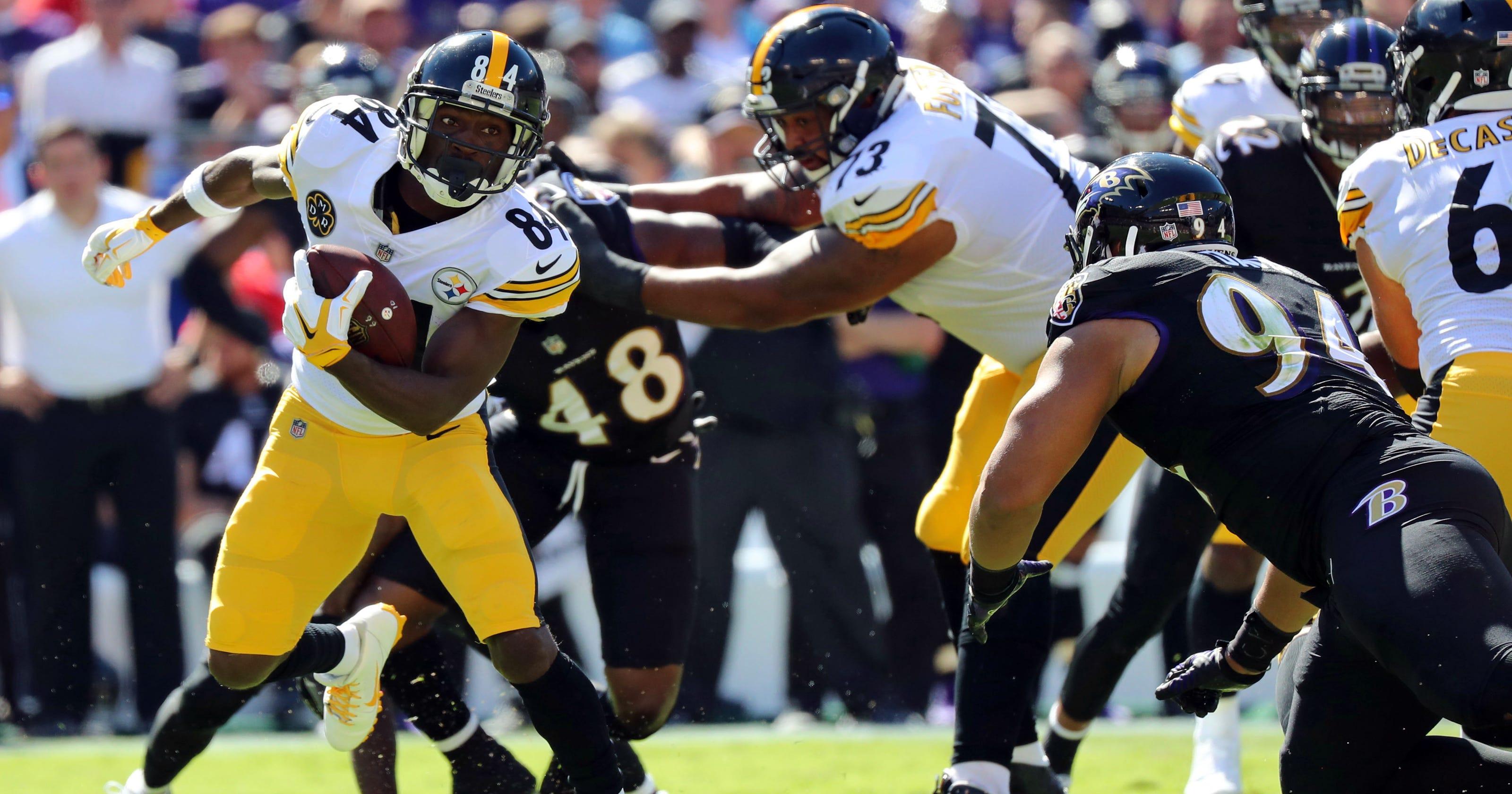 Steelers want Antonio Brown to quiet sideline histrionics ecc379aaf