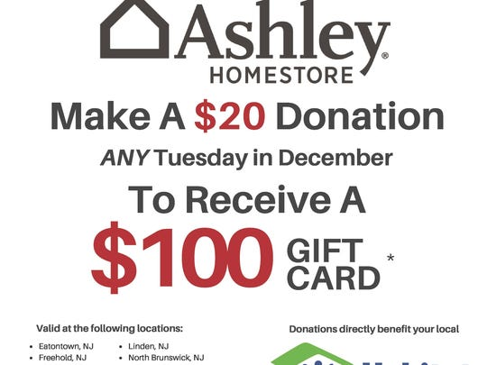 Ashley HomeStore and Habitat for Humanity are making every Tuesday #GivingTuesday this month.