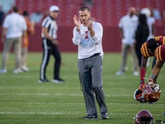 Former Iowa State assistant football coach Joe Houston will become a quality control staffer at Alabama.