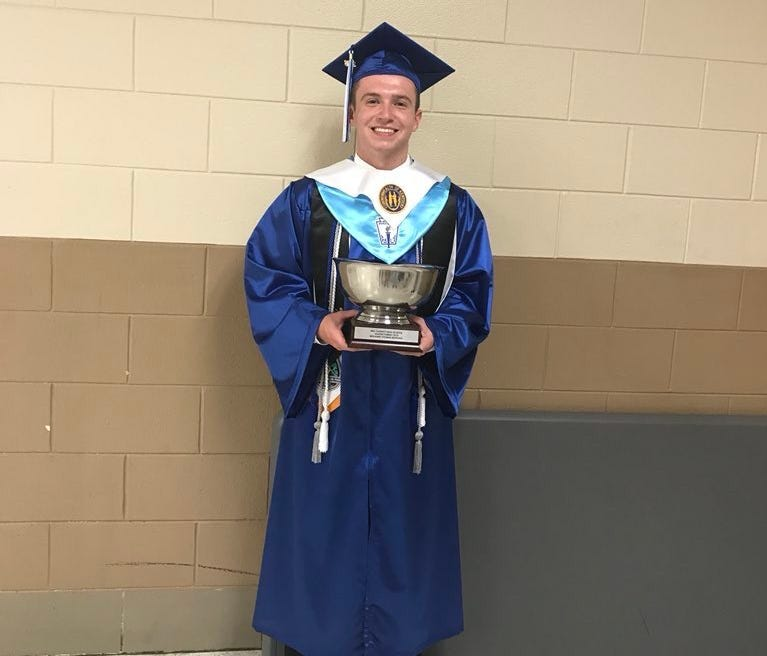 Ben Bowling, 18, was the graduating valedictorian at Bell County High School.