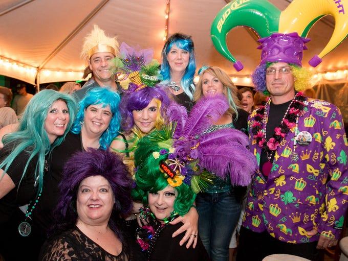 The Krewe of Shakers held its 2017 Wigwacker Mardi