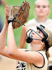 Delone Catholic's Cassie Rickrode had three hits and two RBIs in Wednesday's win vs. York Suburban.