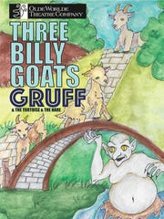 "The Illustrator for the ""Billy Goats Gruff"" poster"