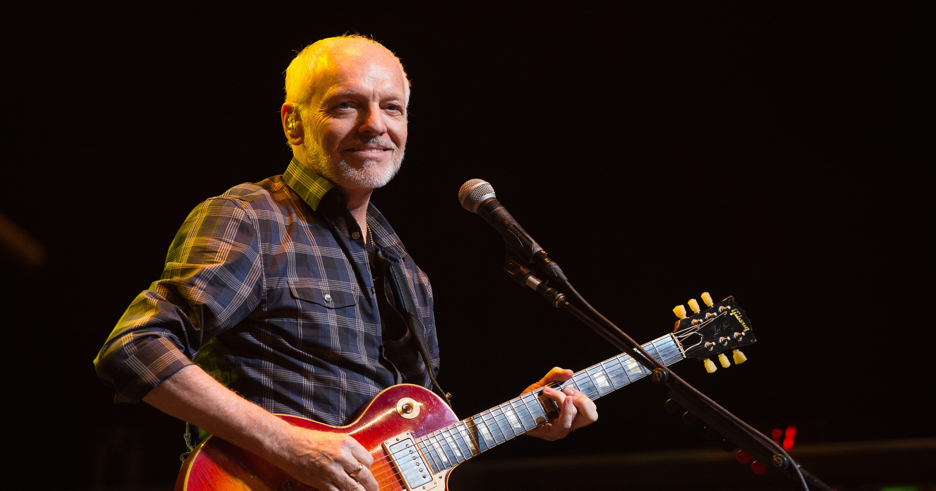 peter frampton here 39 s when his farewell tour stops in iowa. Black Bedroom Furniture Sets. Home Design Ideas