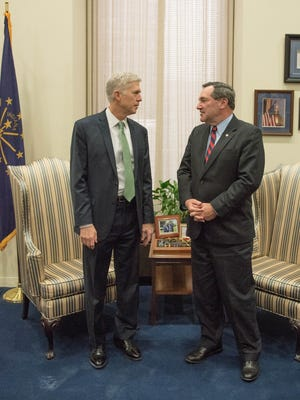 Indiana Democratic Sen. Joe Donnelly met with Supreme Court nominee Judge Neil Gorsuch last week. Donnelly, a Democratic, is facing increasing pressure from Republicans to support Gorsuch.