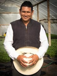 Beginning farmer, Ivan Tellez, worked with Idaho FSA