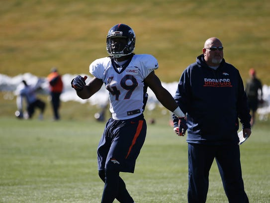 Quentin Gause was signed by the Broncos on Oct. 17.