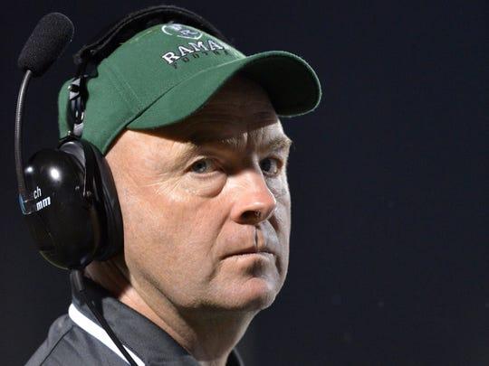 Ramapo's Drew Gibbs coached Patriots wide receiver Chris Hogan in high school. Hogan graduated in 2006.