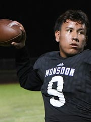 Reyes Lara III, Valley Vista senior QB, is azcentral sports' Male Athlete of the Week, presented by La-Z-Boy Furniture Galleries, for Oct. 27-Nov. 3.