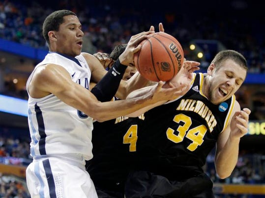 NCAA Villanova Milwaukee Basketball (2)