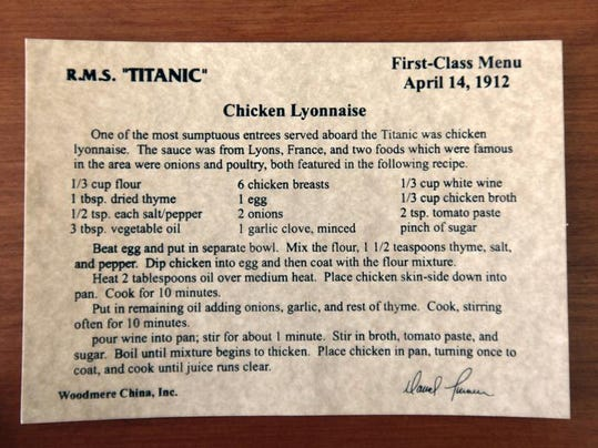 Try Titanic S Final Salad