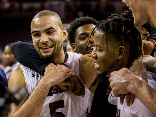 NCAA Basketball: Louisiana State at South Carolina