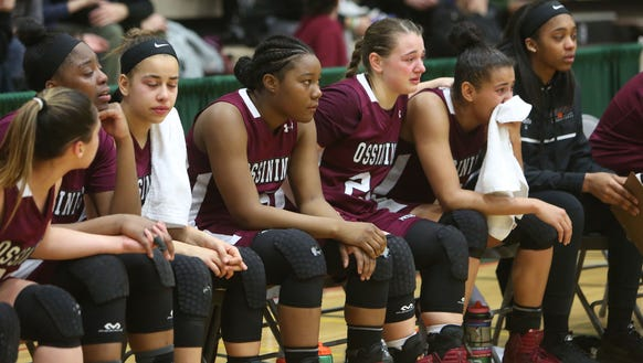 Ossining players watch their season come to an end