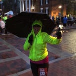 "Foot Notes: Running through ""inclement weather"""