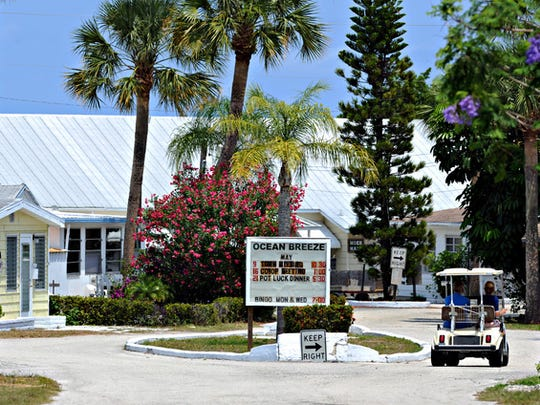 Ocean Breeze is a 55-and-older resort community along the Indian River Lagoon.