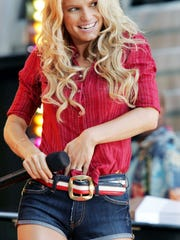 Jessica Simpson on ABC's 'Good Morning America' in