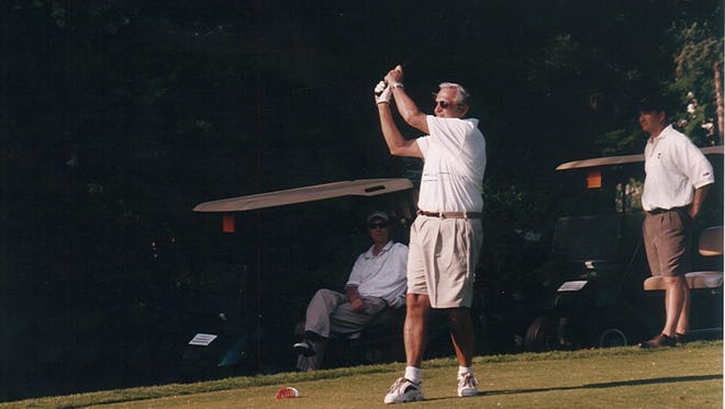 Justin Vigdor has participated in nearly all of the annual Al Sigl Golf Tournaments.