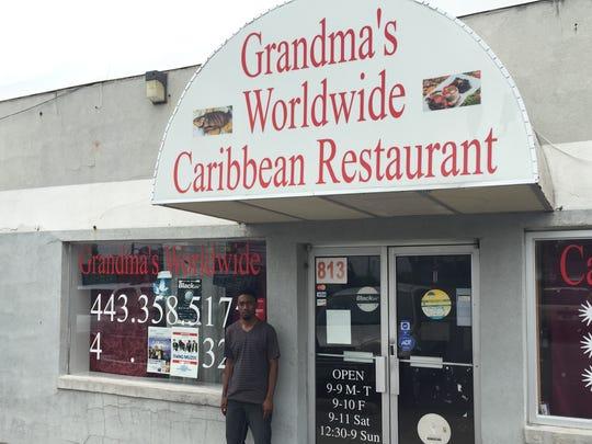 LeJuste Tanis opened Grandma's Worldwide Caribbean