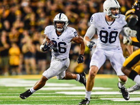 NCAA Football: Penn State at Iowa