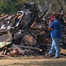 The Rodriguez family survived the explosion that destroyed their home on Champagne Drive in Dallas on August 26, 2014.