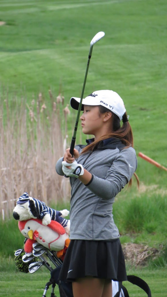Yoona Kim of Immaculate Heart is North Jersey's best freshman girl golfer.
