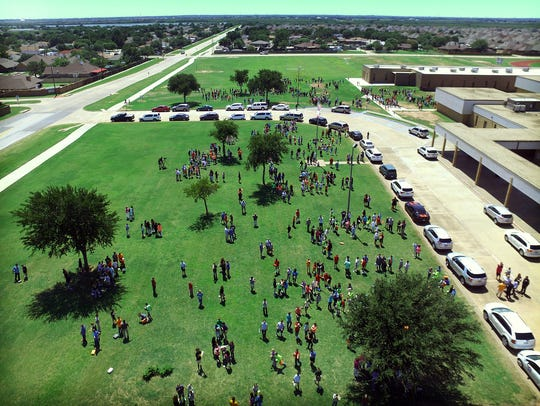 More than 1,300 McNiel Middle School students experienced