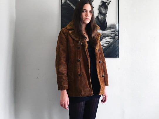Farouche Vintage 1970s corduroy jacket.