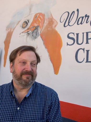 John Brandt, co-owner of the War Eagle Supper Club in Auburn, Ala., is shown on Friday December 4, 2015. the Club is closing at the end of the year.