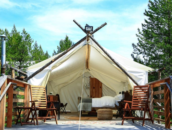 Under Canvas takes the hassle out of camping with its