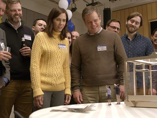 "Kristen Wiig and Matt Damon star in ""Downsizing."""