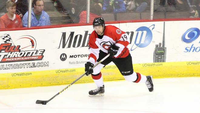 Cyclones forward Jack Downing.