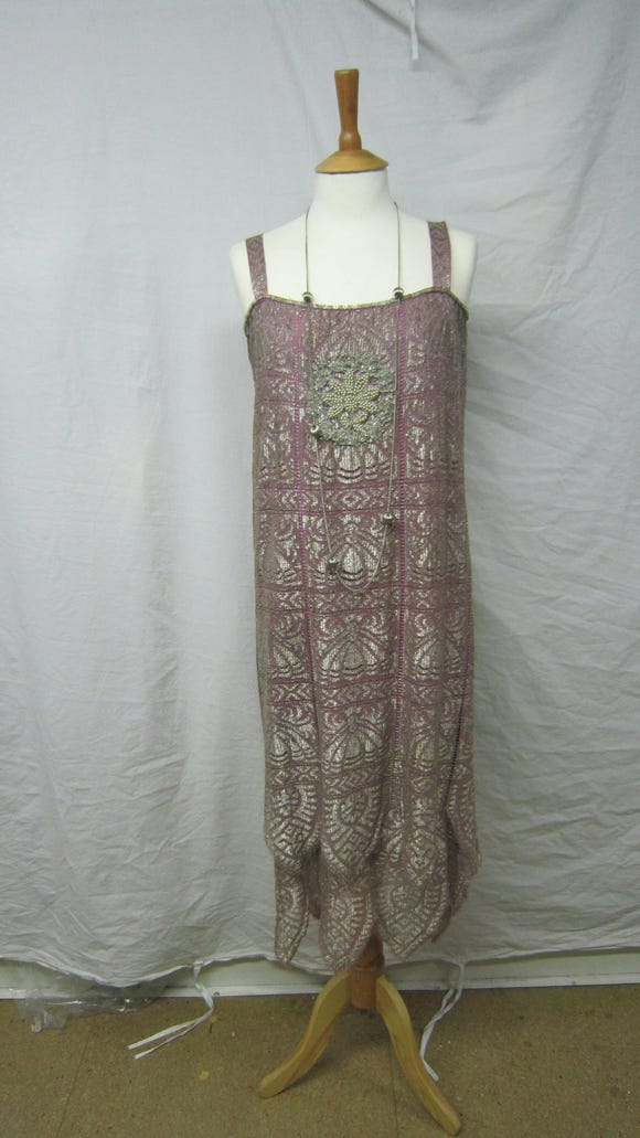 """A sneak peek at new """"Downton Abbey"""" flapper costume will be installed Thursday morning."""