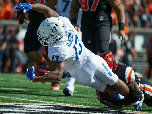 NCAA Football: Boise State at Oregon State