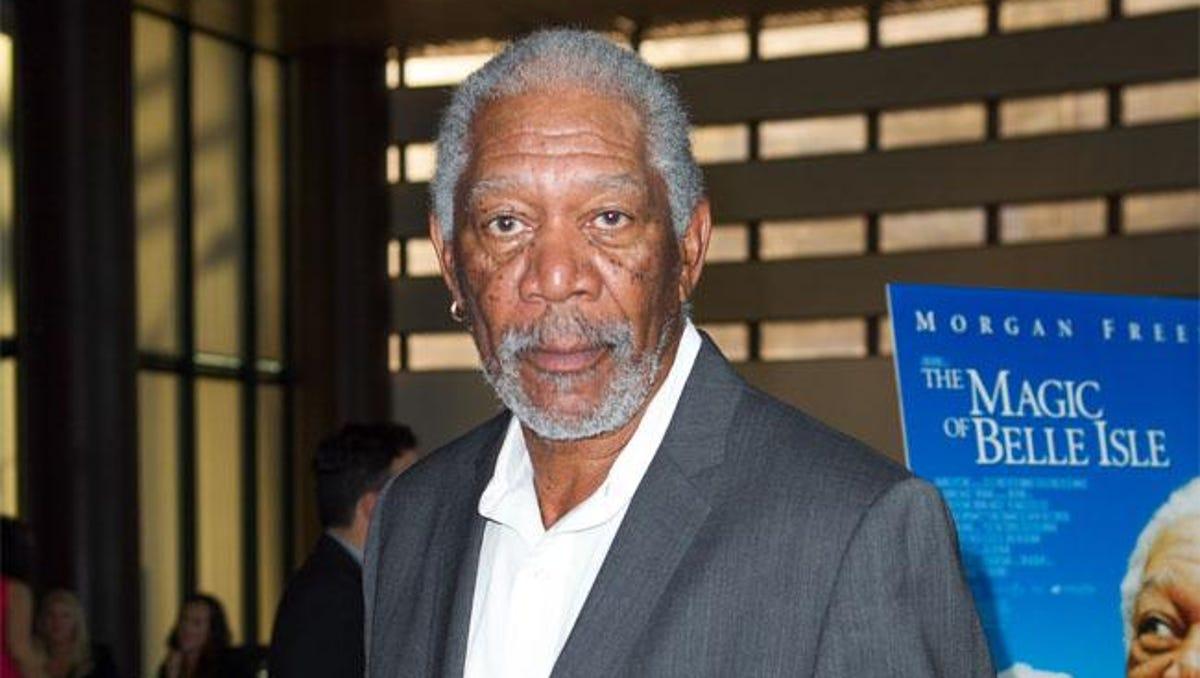 Freeman granddaughter morgan married Morgan Freeman