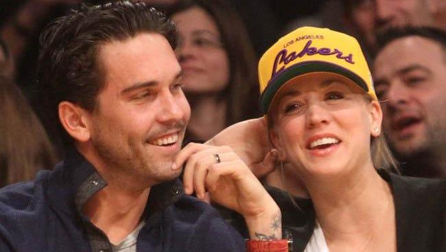 Kaley Cuoco-Sweeting and husband Ryan Sweeting