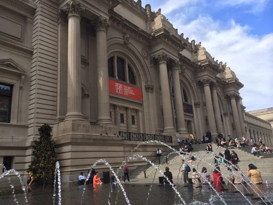 The Metropolitan Museum of Art on Fifth Avenue in New