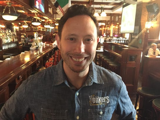 John Rubbo, co-owner of the Yonkers Brewing Co.