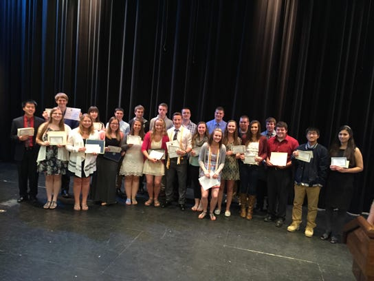 This year's Two Rivers High School scholarship recipients