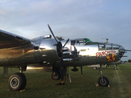 """""""Panchito,"""" a B-25 bomber, flew missions in the Pacific"""