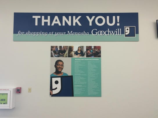 The Menasha Goodwill recently rebranded.