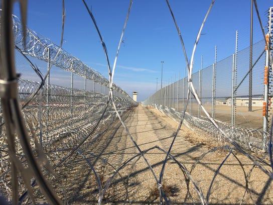 Prison fence at Fort Madison