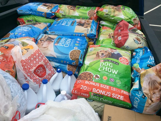 Donated Food Collection 2
