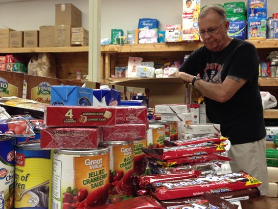 The Cape Coral Caring Center accepts food donations to feed residents in need. IT also offers referrals and assists with electricity  bills as its coffers allow. The center is one of three beneficiaries of the Casino in the Cape  on Friday at the Cape Coral Yacht Club.