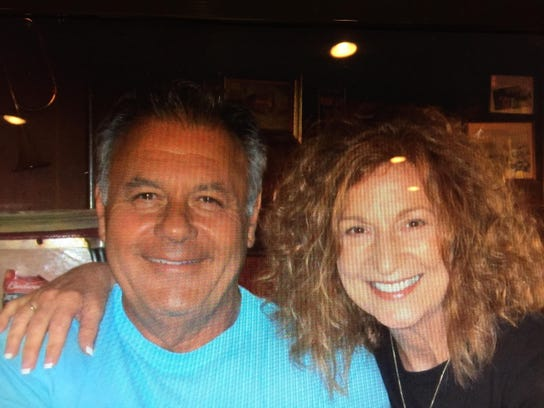 Michael Kovalcheck of Livonia and his wife, Toni, who
